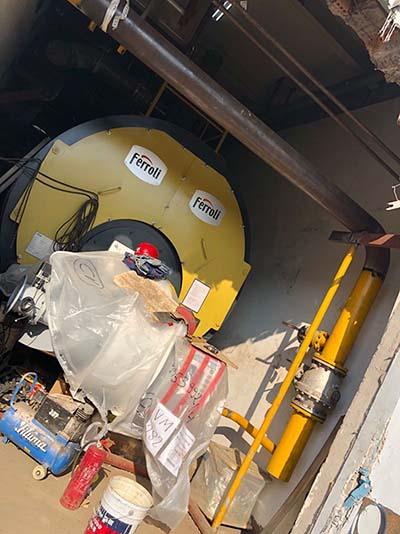 锅炉低氮改造