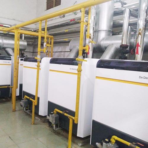 北京市电子工业干部学校-锅炉房改造案例