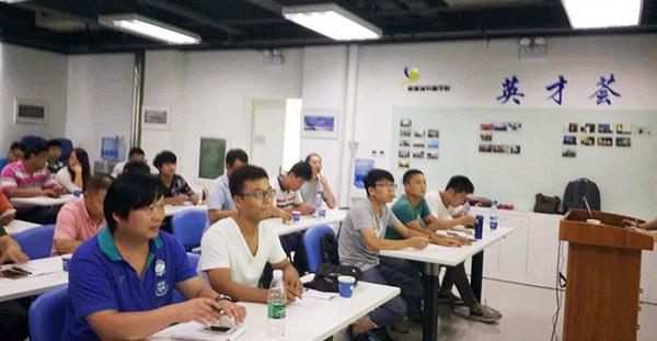 东方永捷售后技术人员参与冷凝炉售后培训会