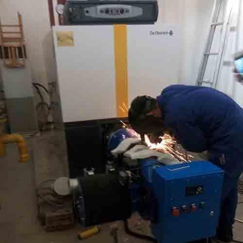 北京市海淀区教育卫生保健中心-锅炉低氮改造案例