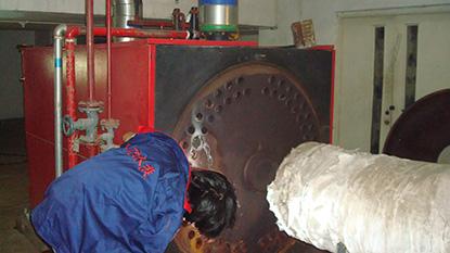 锅炉烟管漏水维修
