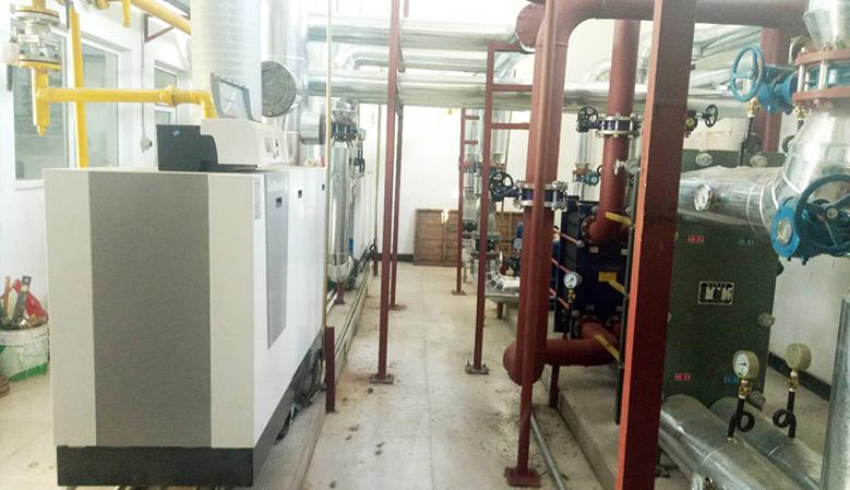 北京自动化仪表三厂-锅炉房改造案例