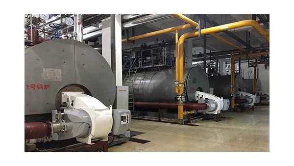 天裕昕园小区锅炉低氮改造现场施工