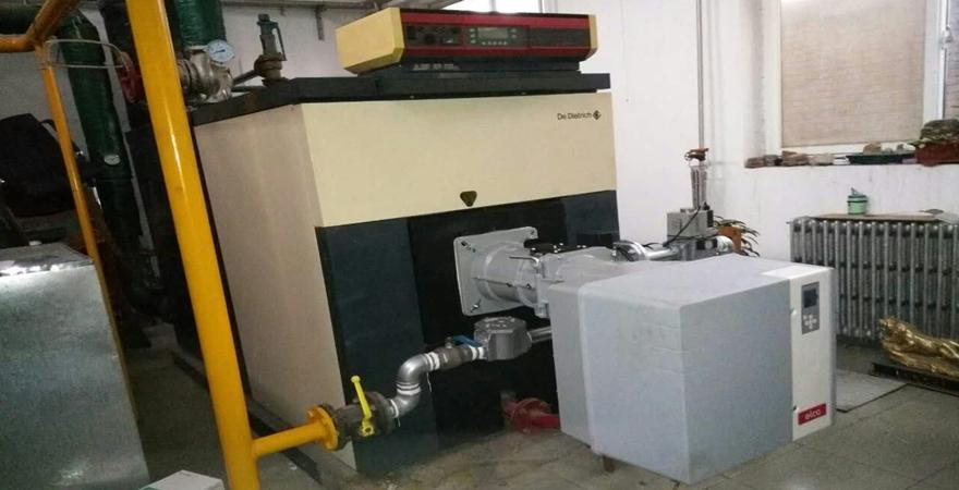 中国人民大学继续教育学院-燃烧器低氮改造案例